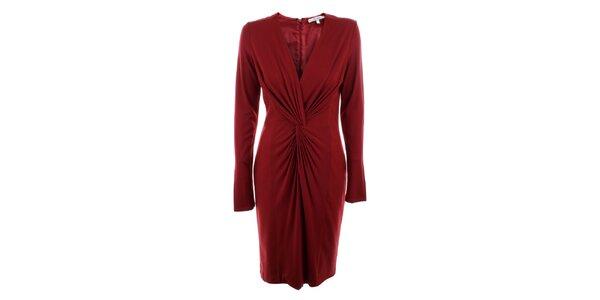 Dámske červené šaty Max Mara