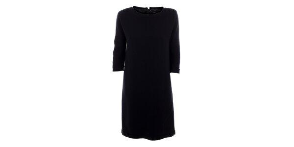 Dámske čierne vlnené šaty Max Mara