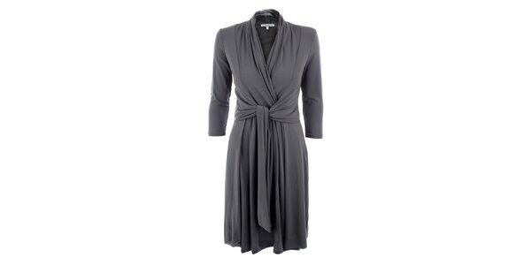 Dámske šedé šaty Max Mara