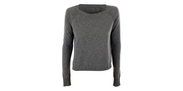 Dámsky svetlo šedý sveter Max Mara