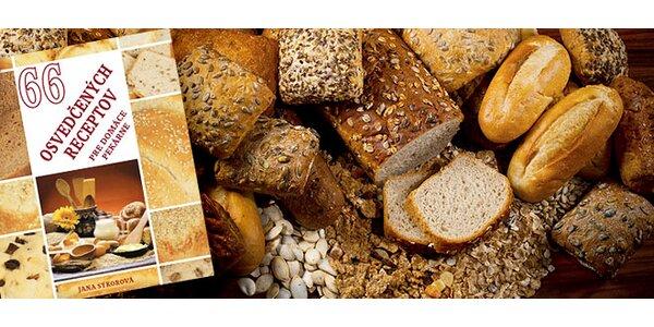 Kuchárska kniha 66 osvedčených receptov pre domáce pekárne
