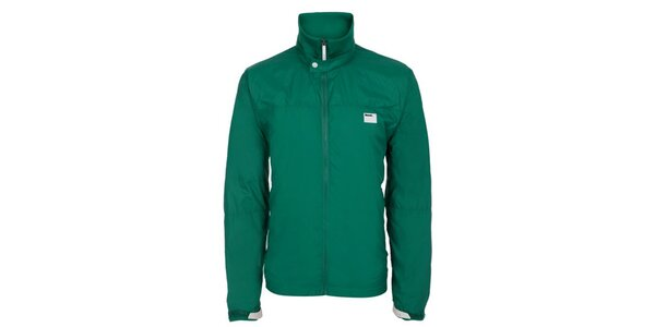 Pánska zelená šusťáková bunda Bench