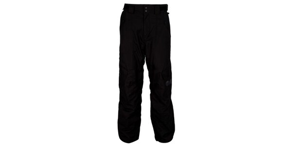 Pánske čierne nohavice na snowboard Bench