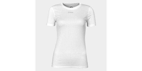 Dámske biele funkčné tričko Sweep