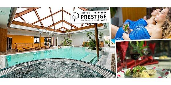 Luxusný Wellness v Hoteli PRESTIGE**** + dieťa do 12 rokov zadarmo
