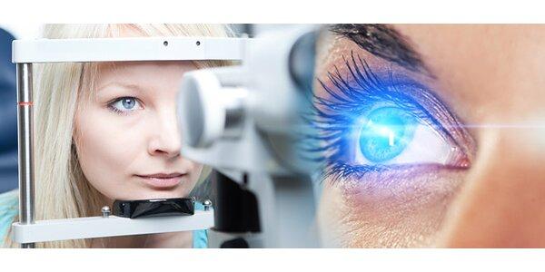 Bezbolestná operácia obidvoch očí excimerovým laserom v Košiciach