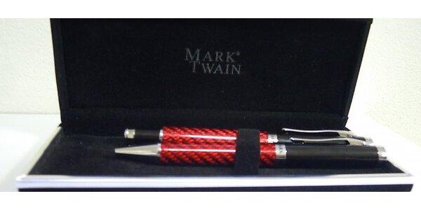 Značková sada pier Mark Twain v darčekovej krabičke