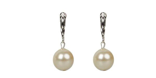 Dámske perlové náušnice Royal Adamas