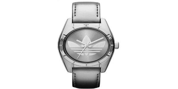Dámske strieborné hodinky s logom Adidas