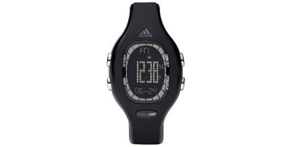 Unisexové oválne čierne hodinky Adidas