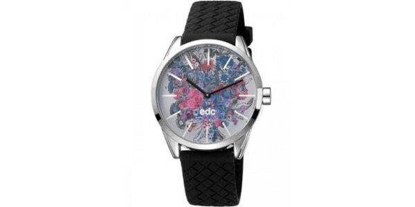 Dámske hodinky EDC by Esprit s kvetinovým ciferníkom