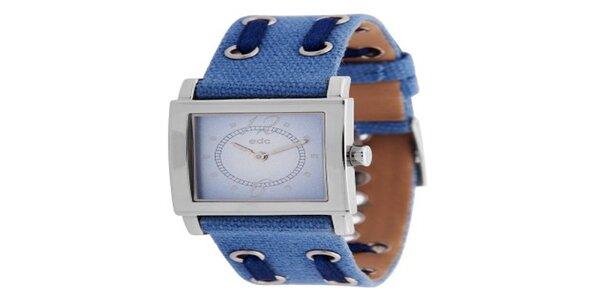 Dámske náramkové hodinky EDC by Esprit modré