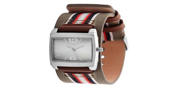 Dámske hranaté hodinky so širokým remienkom s. Oliver d0fa547598
