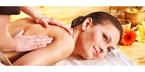 40 minútová masáž podľa výberu
