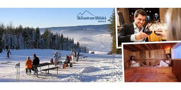 Pobyt pre dvoch so skipasom v Ski Nižná Uhliská
