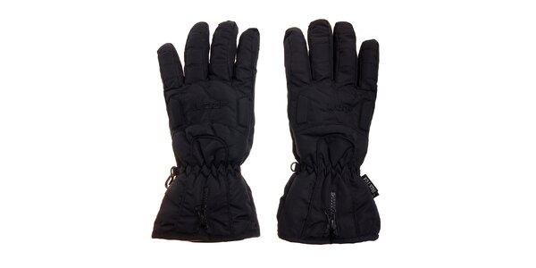 Čierne lyžiarske rukavice Loap