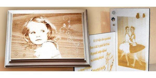 Originálne drevené fotografie