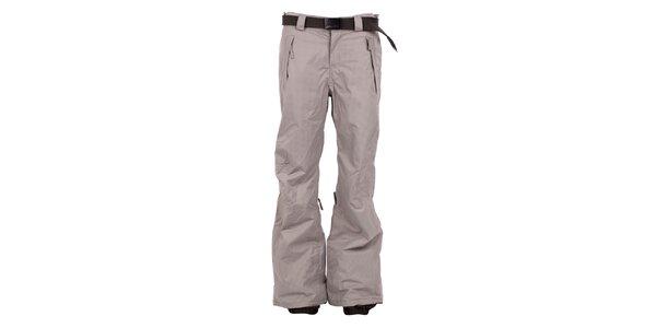Dámske béžovo-hnedé kockované nohavice na snb a lyže O'Neill