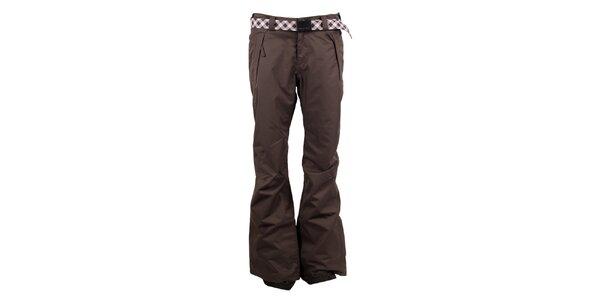 Dámske khaki nohavice na snb a lyže O'Neill