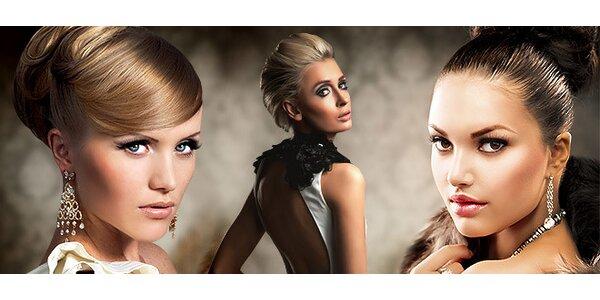 Spoločenský účes alebo kúra proti vypadávaniu vlasov