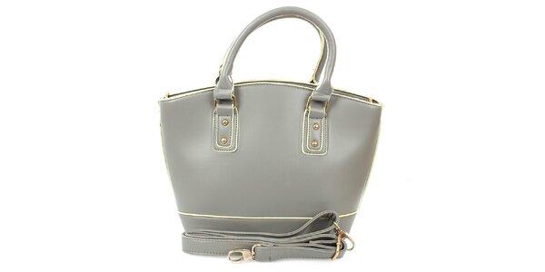 Dámska šedá shopper taška London Fashion