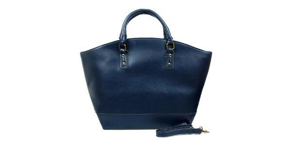 Dámska fialovo-modrá kabelka London Fashion