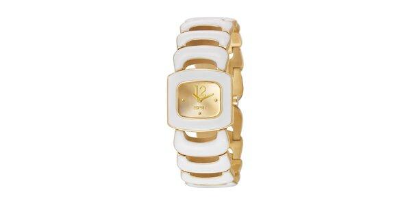 Dámske náramkové hodinky Esprit v zlatej farbe
