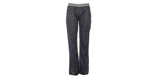 Dámske tmavo modré pyžamové nohavice s potlačou Tom Tailor