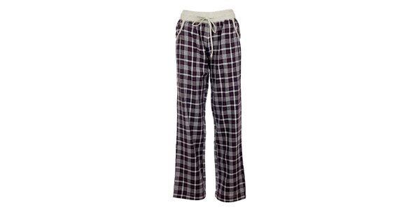 Dámske kockované pyžamové nohavice Tom Tailor