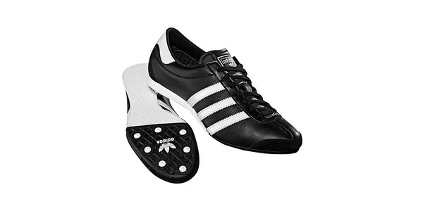 Dámske čierno-biele tenisky Adidas