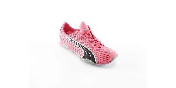 Dámske ružové běžecké boty Puma