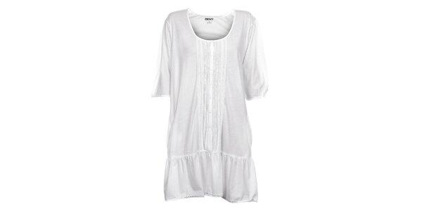 Dámska biela nočná košeľa DKNY