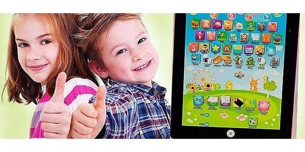 Detský tablet na výučbu angličtiny len za 9,99 € už aj s poštovným