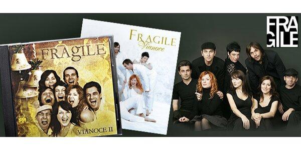 2 CD Fragile - slovenské koledy aj klasická hudba