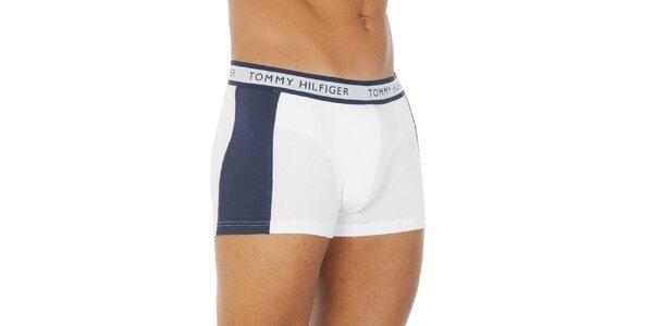 Pánske modro-biele boxerky Tommy Hilfiger