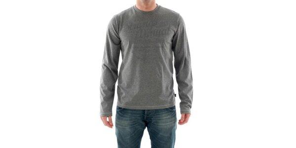 Pánske šedé tričko Hammersmith