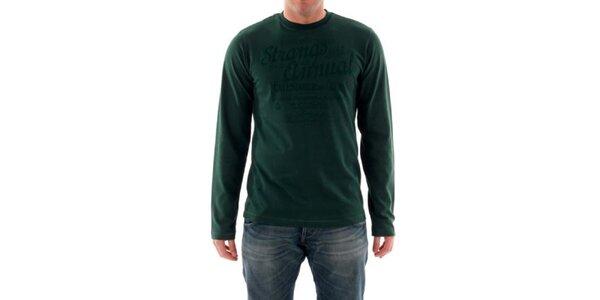 Pánske fľaškovo zelené tričko Hammersmith