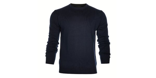 Pánsky tmavo modrý sveter Calvin Klein