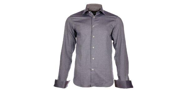 Pánska svetlo šedá košeľa Calvin Klein