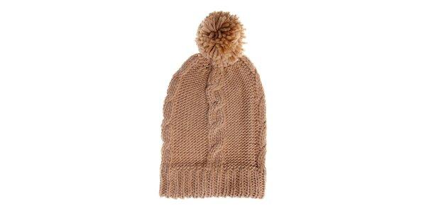 Dámska krémová čapica Fraas