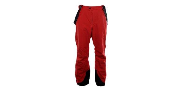 Pánske červené zjazdové nohavice Blizzard s trakmi