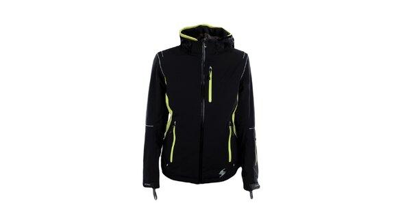 Dámska čierno-zelená funkčná bunda Blizzard