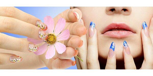 Japonská manikúra, lakovanie gél lakom alebo gélové nechty