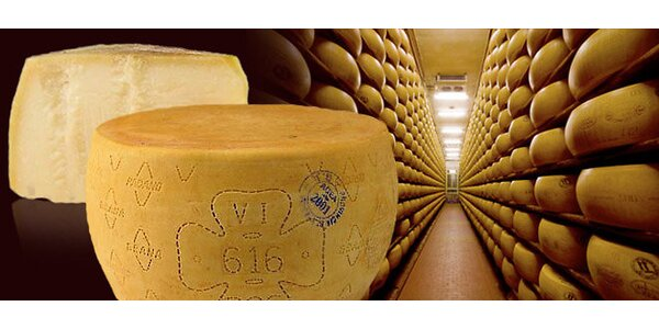 0,5 kg pravého talianskeho parmezánu Grana Padano