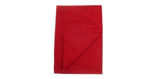Dámska červená šála Fraas