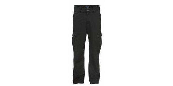 Pánske čierne nohavice Fundango