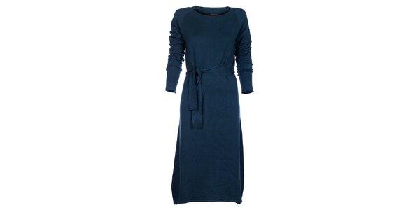 Dámske tyrkysové šaty Pietro Filipi