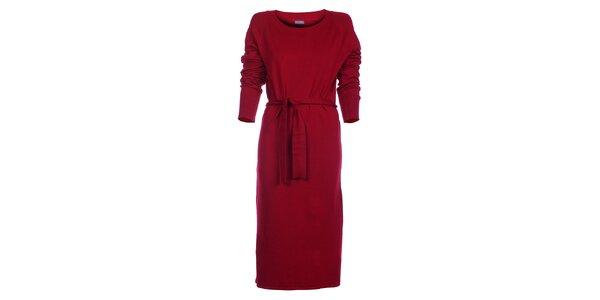 Dámske červené šaty Pietro Filipi