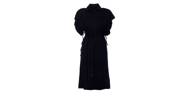 Dámske dlhé čierne šaty Pietro Filipi
