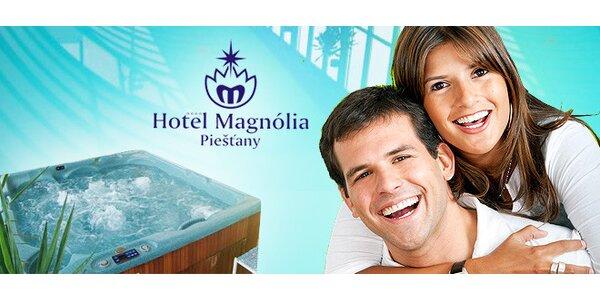 3-dňový pobyt pre dvoch v hoteli Magnólia**** v Piešťanoch
